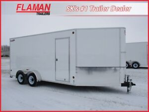 CJay 7'x20' Cargo Trailer - Heavy Duty Model!