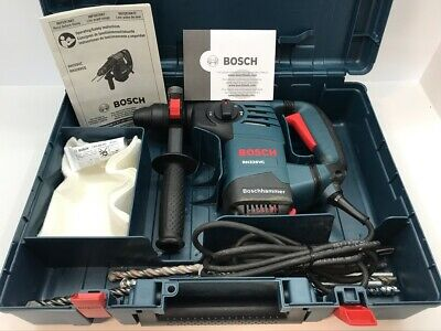 Bosch Rh328vc 1-18 Sds-plus Rotary Hammer Drill Bits Hard Case Kit Bundle