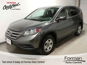 2014 Honda CR-V LX - Certified | New tires | One Owner | Htd....