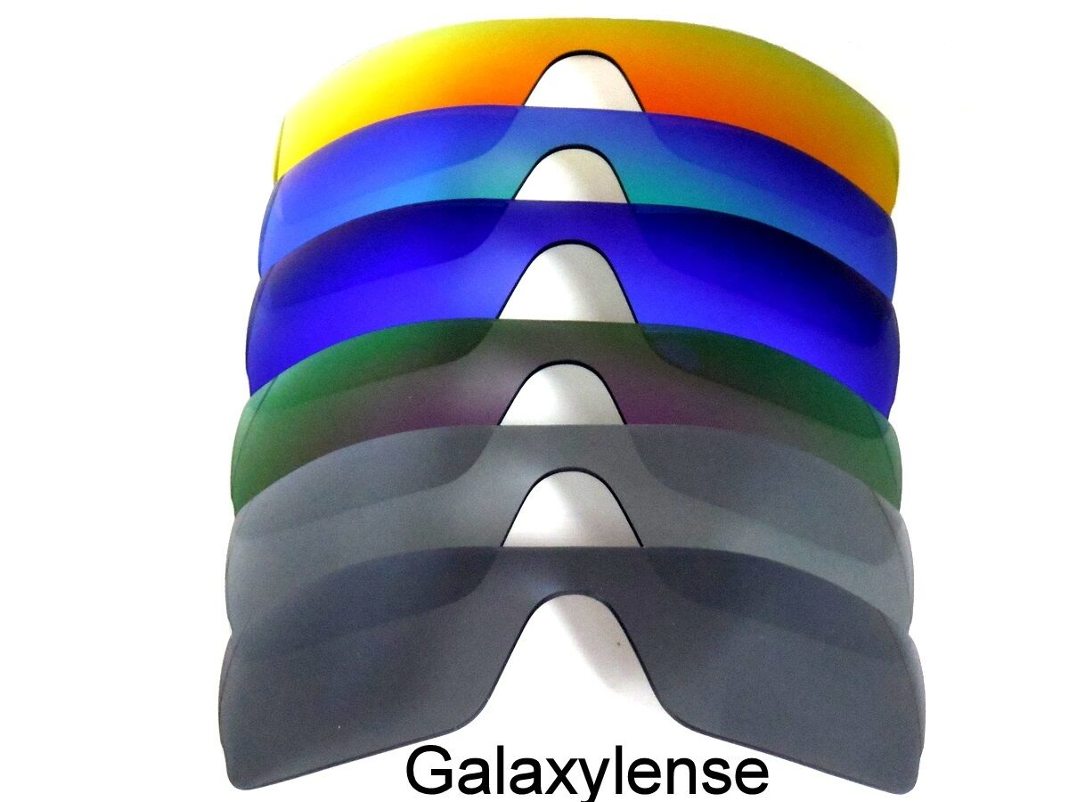 3f45b98b357e0 Galaxy Replacement Lenses for Oakley Batwolf Black Titanium Purpl Blue Green  Red