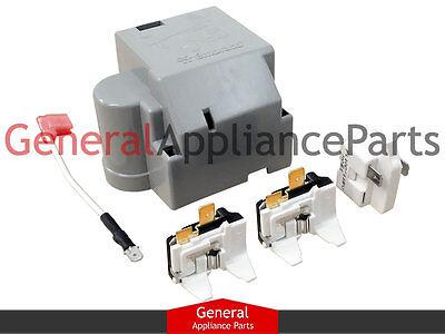 Whirlpool Kenmore Roper Estate Refrigerator Compressor Start Device Kit 8201799