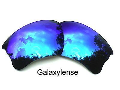 Replacement Lenses for Oakley Flak Jacket XLJ Sunglasses Ocean Blue Polarized for sale  Shipping to India