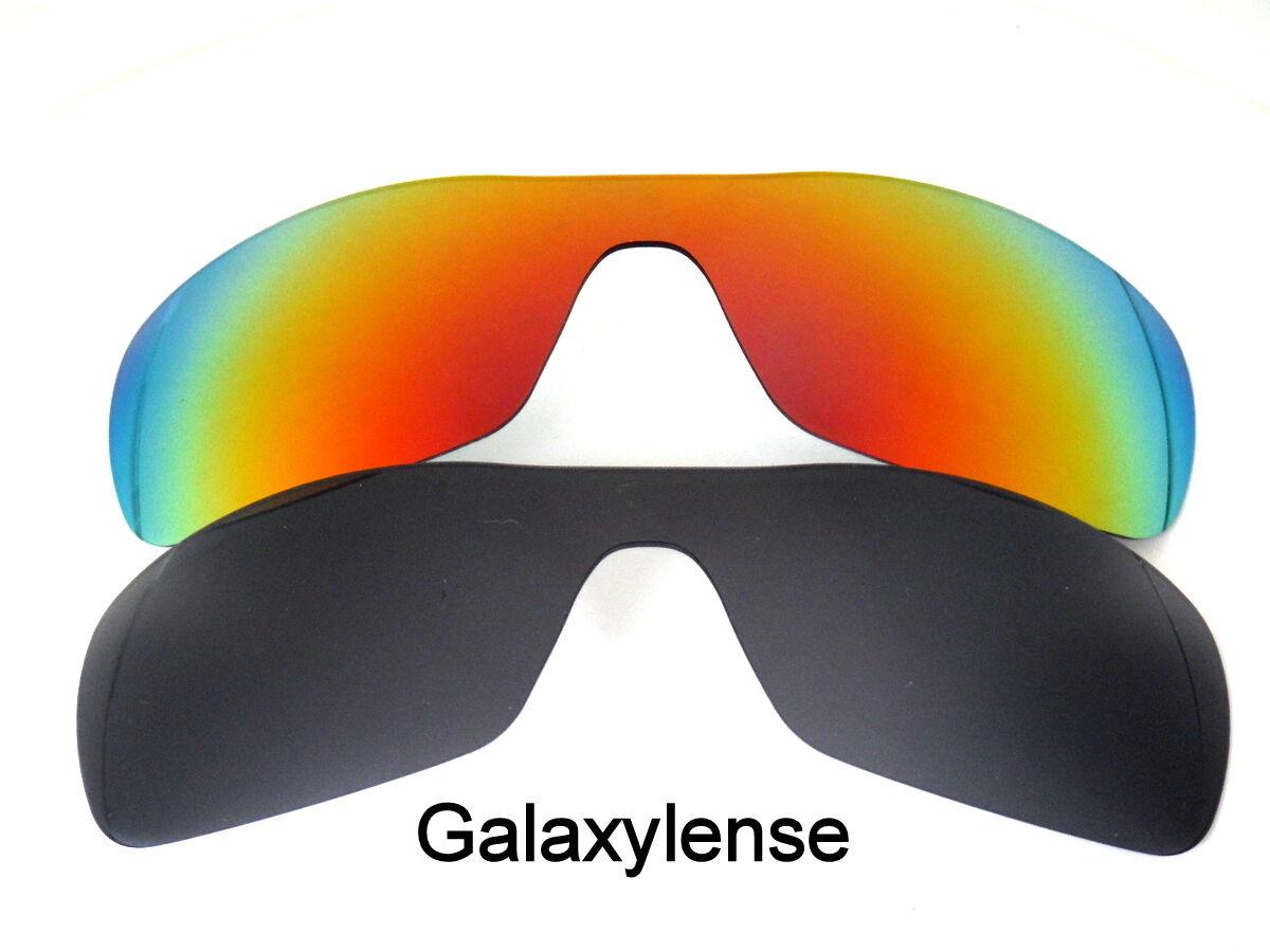 308289102c Galaxia lentes de recambio para Oakley Antix negro y rojo polarizaron 100%  UVAB 2 pares