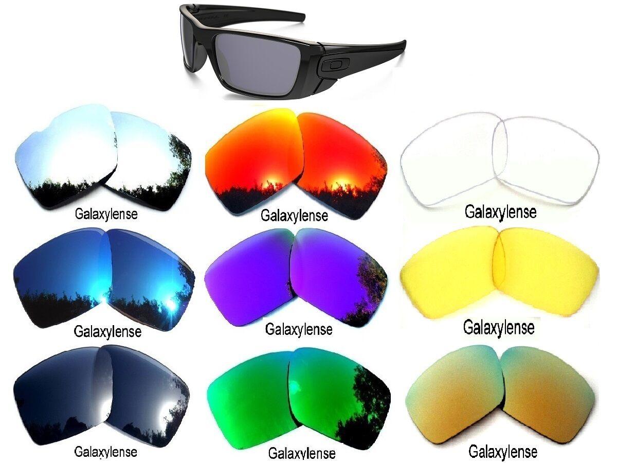 b4624f87d3888 Galaxy Lente Repuesto para Oakley Fuel Cell Gafas de Sol Multicolor  Selección
