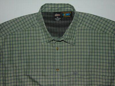 Men's Clothing Euc Us Army Cb Cutter & Buck Men Sz Xl White Black Check Button Down Dress Shirt A Complete Range Of Specifications