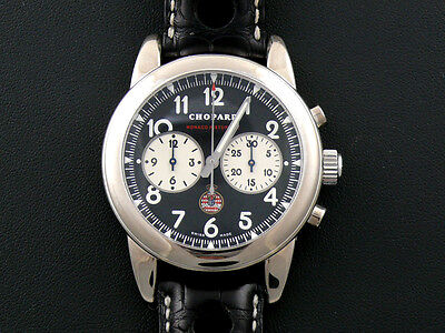 Chopard Grand Prix Monaco Historique DRIVER WORN 18K Chronograph With EXTRAS!!