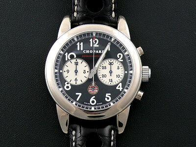 Grand Prix Monaco Historique DRIVER WORN Chopard 18K Chronograph With EXTRAS!!