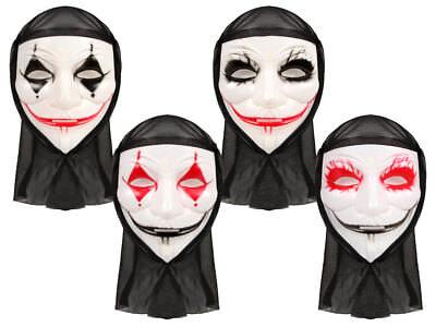 lloweenmaske Gruselmaske Jokermaske Angstmaske ALSINO (Halloween Joker-maske)