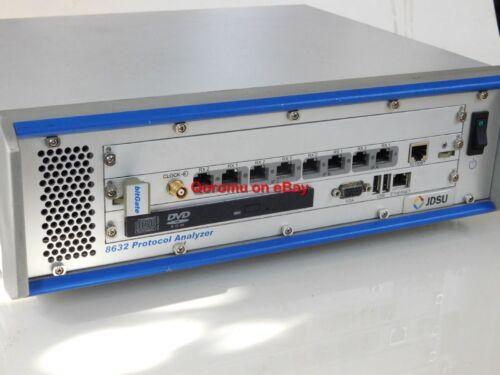 JDSU 8632 Protocol Analyzer Unit + bitGate 8630 Analyzer Software