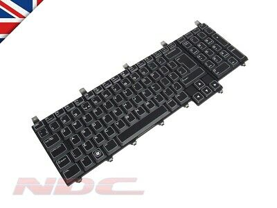 NEW Dell Alienware M17x R1/R2/R3/R4 UK ENGLISH Keyboard with AlienFX LED 03CM9P