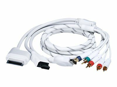 6FT 4 in 1 Combo Component AV Audio Video Cable for Xbox 360, Wii, PS3 PS2 - NEW for sale  Shipping to South Africa