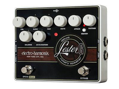 Electro-Harmonix Lester G Deluxe Rotary Speaker pedal for guitar