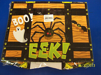 Halloween Treasure Chest Pirate Cardboard Holiday Party Favor Carnival Activity