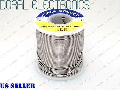1.0mm 1.0 Lb 453g 6040 Rosin Core Flux Tin Lead Roll Soldering Solder Wire 1lb