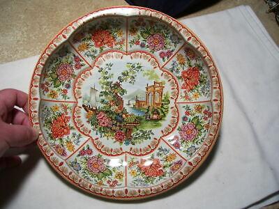 Vintage Daher England Decorative Tin Bowl