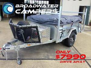New! Off Road Galvanised Broadwater Camper Trailer Independent Arundel Gold Coast City Preview