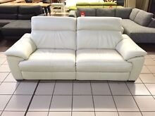 ZEINA 2.5 SEATER W/2 ELECTRIC RECLINERS - 100% LEATHER Logan Central Logan Area Preview