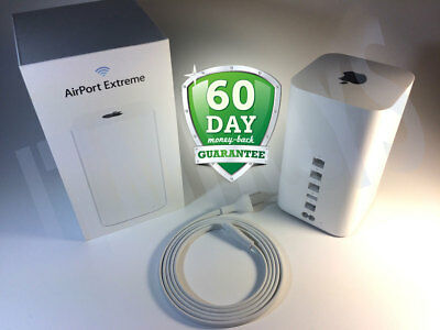 Apple AirPort Extreme A1521 3-Port Gigabit Wi-Fi 802.11 AC Router Priority Ship!