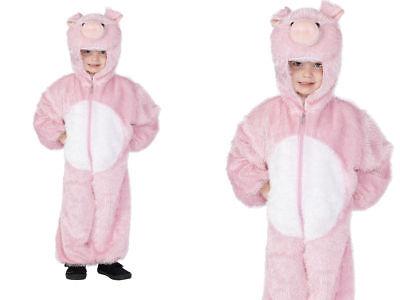 Pink Farm Schwein Kinder Kostüm Tier Buch Woche Jungen Mädchen Kinder Kostüm - Farm Mädchen Kostüm