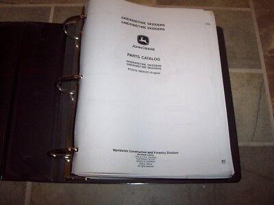 John Deere 540e 640e 740e 548e 648e 748e Skidder Parts Catalog Manual Pc2312