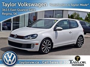 2012 Volkswagen Golf GTI 3-Dr DSG tip Very low km, with a clean