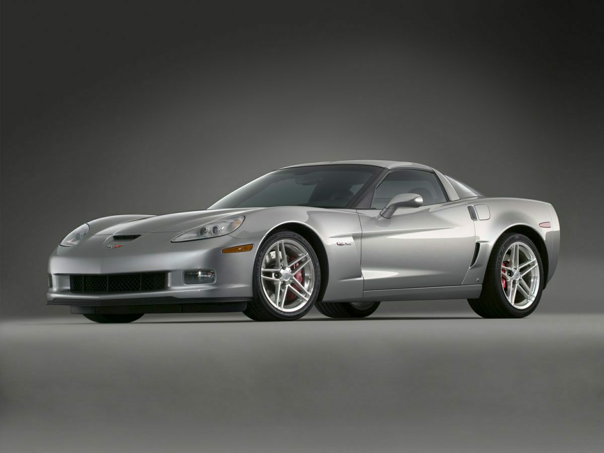 2008 Black Chevrolet Corvette Z06  | C6 Corvette Photo 1