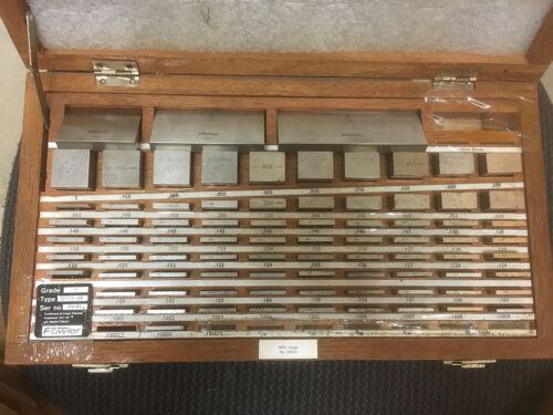96 Piece Fowler / Mitutoyo Gage Block Set - Grade A+