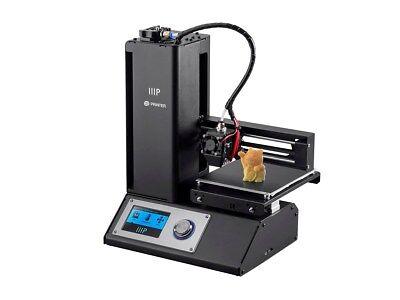 Monoprice Tiptop Mini 3D Printer with Heated Build Plate - Black