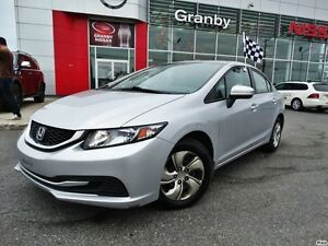 2014 Honda Civic Cpe LX/AIR CLIMATISÉ/CRUISE CONTROL/