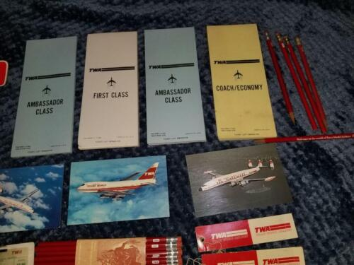 TRANS WORLD AIRLINES  TWA Airlines LOT