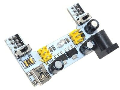 Power Supply Voltage Regulator 3.3v And 5v - For Solderless Breadboard Projects