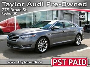 2013 Ford Taurus Limited LOCAL TRADE, PST PAID, 1 OWNER, NO A...