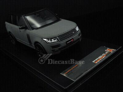 Premium X PRD409 1/43 Land Rover Range Rover 2013 Grey Matt with Carbon Pack PRX