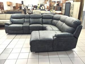 CLEARANCE CORNER MODULAR LOUNGE W/CHAISE AND RECLINER Logan Central Logan Area Preview
