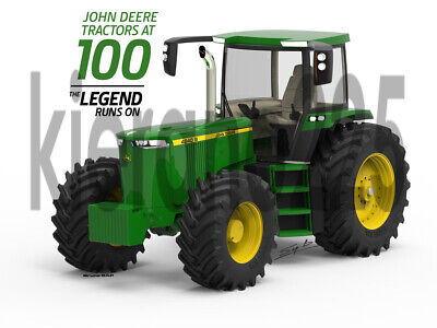 A3 John Deere 4240s 100 Years Concept Tractor Brochure Poster Leaflet