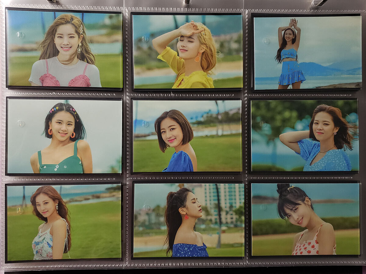 TWICE - TWAII'S SHOP in SEOUL - Official Trading Photocard 10-18