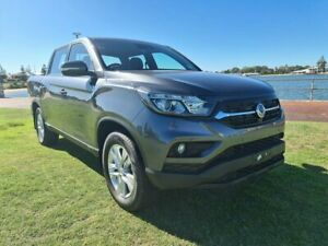 2020 Ssangyong Musso Q200 MY20.5 ELX Crew Cab Marble Grey 6 Speed Sports Automatic Utility
