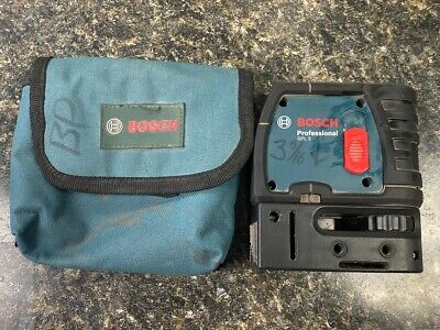 USED Bosch Professional GPL 3 3-Point Self-Leveling Alignment Laser (QUC006092)