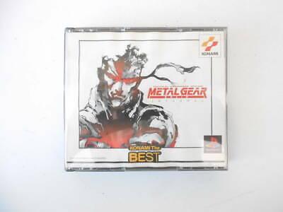 METAL GEAR SOLID INTEGRAL THE BEST PlayStation 1  PS1 KONAMI SOFT IMPORT