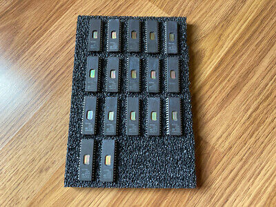 17 St 27c801 Uv Eprom M27c801 8m Dip32 Ic 17 Lot Usa Seller