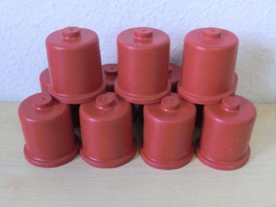 Gärtkappen Gummikappen Mostkappen ohne Loch Weinballon Wein DRN 24-65 mm