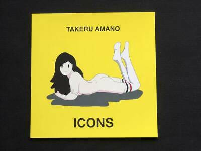 Takeru Amano Iconos Primero Prensa Drawing Art Foto Libro