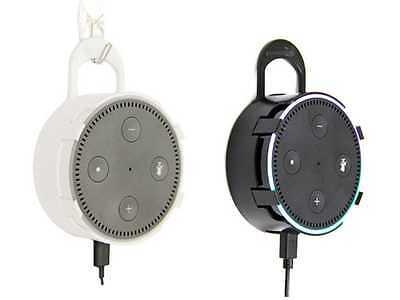 Amaz247 2Nd Gen Echo Dot Accessories Protective Case Wall Mount With Hanger Loop