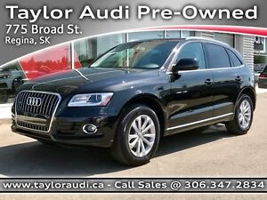 2014 Audi Q5 2.0 Progressiv 1 OWNER, LOCAL TRADE, PANORAMIC S...