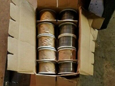 5lb Spools Of Stitcher Wire Lot Of 10