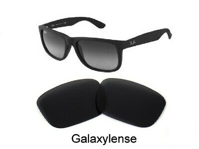 Galaxy Replacement Lenses For Ray Ban RB4165 Justin Black 54mm (Ray Ban Justin Polarized Lenses)
