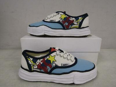 Maison Mihara Yasuhiro Mens EU 42/US 9 Cartoon Print Sneaker Multi A04FW703