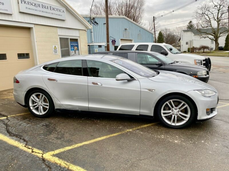 Image 5 Coche Americano usado Tesla Model S 2013