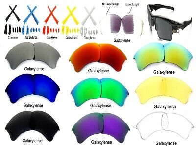 Galaxy Replacement Lenses For Oakley Flak Jacket XLJ Sunglasses Multi (Flak Jacket Xlj Lenses)