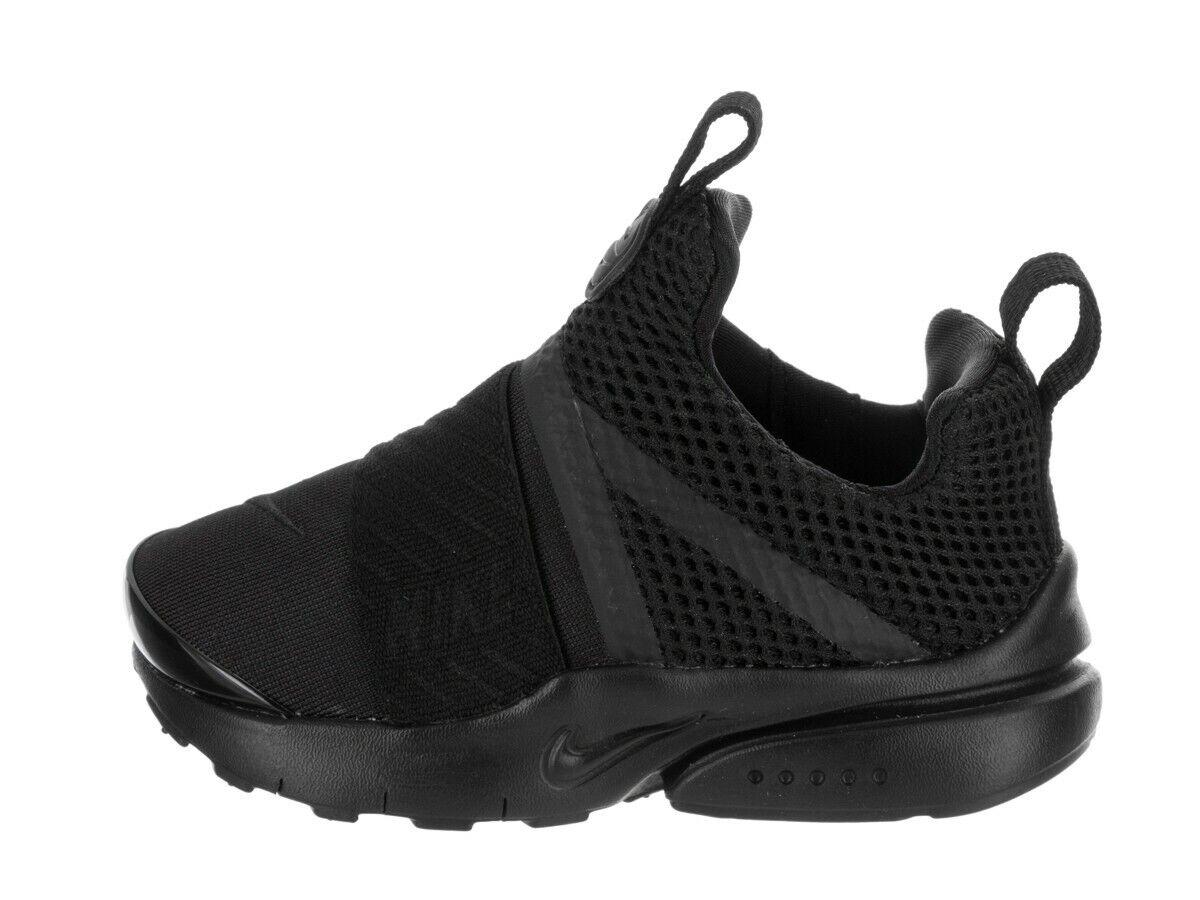 Nike Infant & Toddler's PRESTO EXTREME TD Shoes Black/Black 870019-001 d